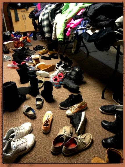 Shoe in Garage