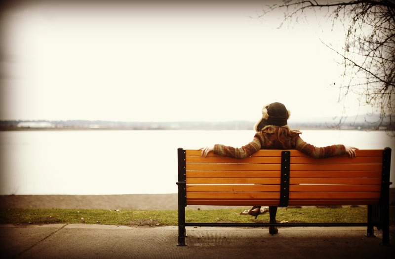 Alone on Bench