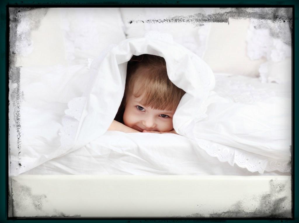 Child Under Blanket 1