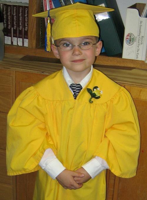 2005 Kindergarten Grad Edit