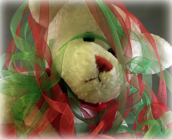 Messy Christmas Bear