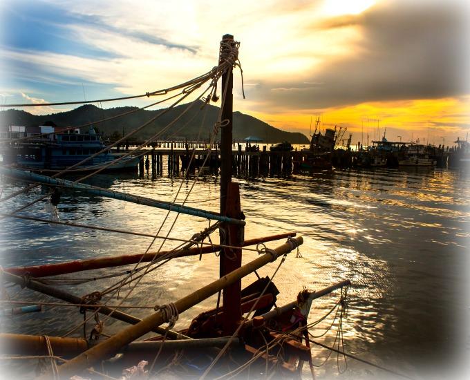 Boat in Harbor 1