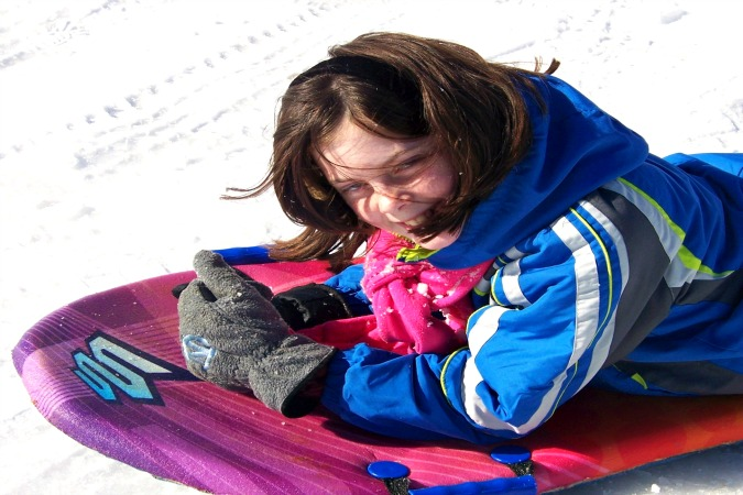 snow sled 3