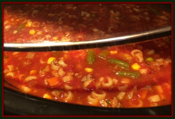 Minestrone Soup 1