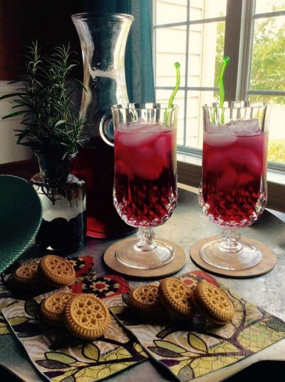 Blueberry Ice Tea 1