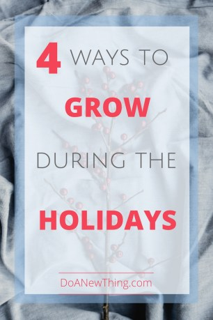 The holiday season can be a great time to grow you blog, ministry or business.