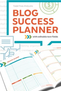 The 2017 Blog Success Planner is here!  With editable PDF pages, a printed option and brand new modules, it has everything you need to plan your blog's success!