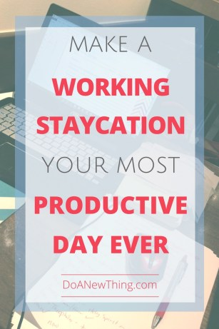 A well-planned day around town may be your most productive day ever.