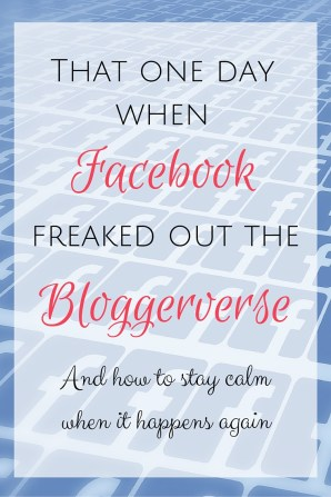 When Facebook released their new Branded Content policy, the bloggerverse freaked out. But there are three important lessons we can learn to help us stay calm the next time.