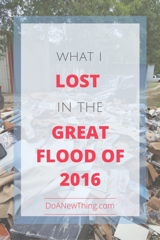If everything was lost in a flood, what would you replace?