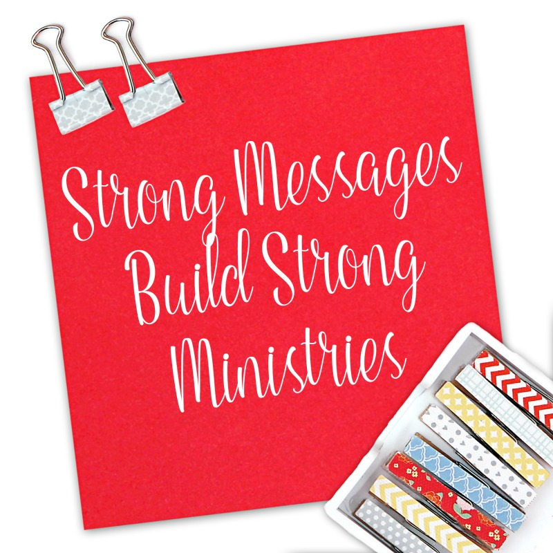 Strong messages are the key to building a strong speaking minstry