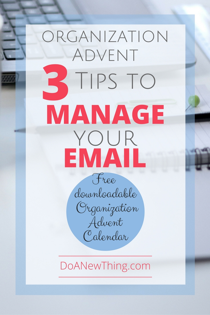 Email may be the best way to communicate with people but managing your email can be a major time suck. Here are three ways to help manage your email ... two for incoming and one for outgoing!