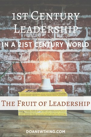 The old saying is true. It is lonely at the top But great leaders know the fruit of leadership is worth the sacrifice.