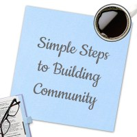 Simple Steps to Building Community