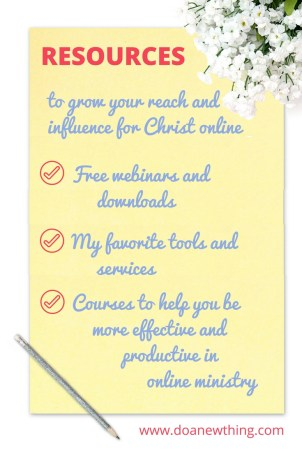 All of my most popular webinars and downloads gathered in one place, plus links to other tools and courses I recommend!
