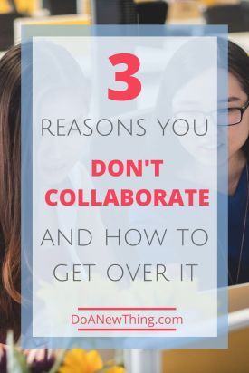 True collaboration is relational, not transactional. Learn about the three things getting in your way of meaninful collaborations and how to get past them.