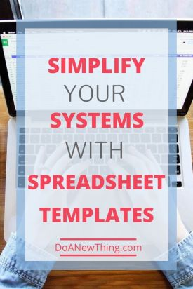 Using a template can help you quickly create action plans, schedule planners, and content calendars. Check out these template examples to set up your systems.