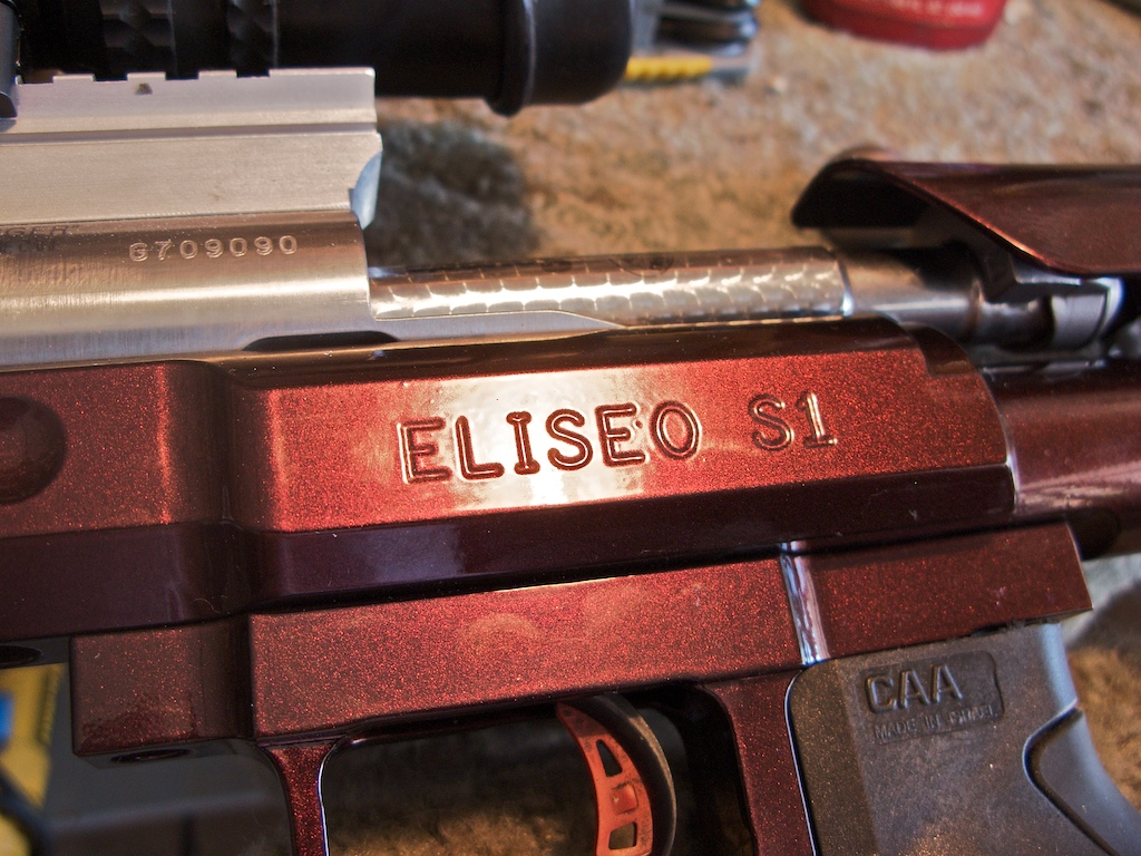 Preparing Eliseo stock for F Class