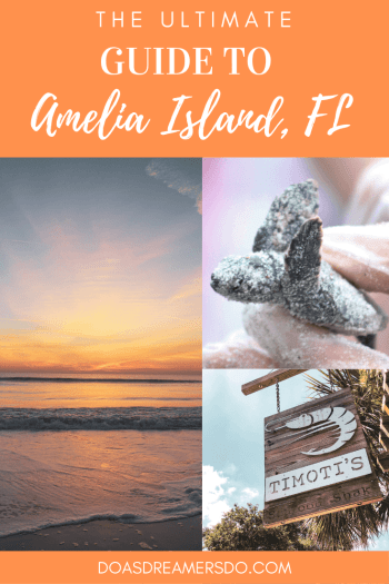 This coastal town just miles south of the Georgia-Florida border line has so much to do including watching sea turtle hatchlings go out to sea, car shows, festivals, and over 90 restaurants! Things to Do in Amelia Island Florida | Where to Stay in Amelia Island | Guide to Amelia Island | Amelia Island Vacation | Fernandina Beach Florida | Where to eat in Amelia Island | Where to visit in florida | Florida vacation | Beach Vacation #florida #ameliaisland #vacation #floridavacation #beachvacay