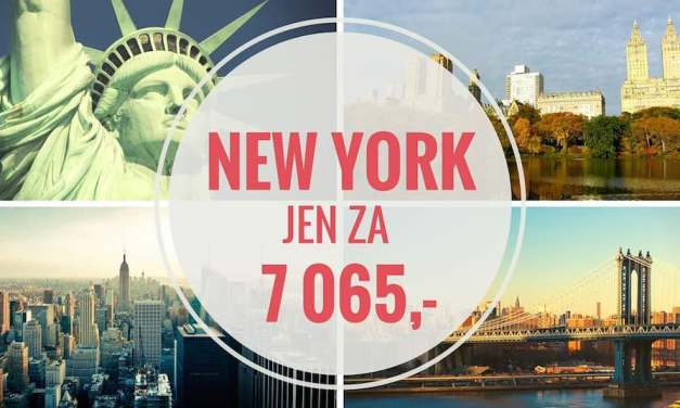 TO CHCEŠ: Letenka do New Yorku za 7065
