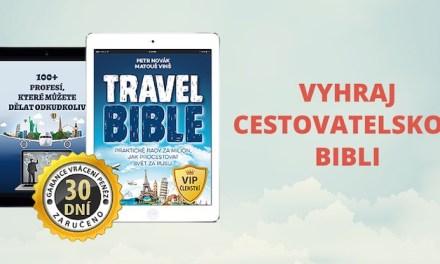 Soutěž: Vyhrajte boží cestovatelskou Travel Bibli