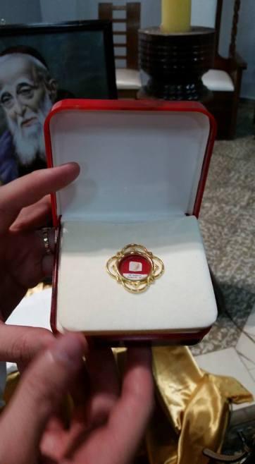Reliquia de 1er grado de San Leopoldo Mandic