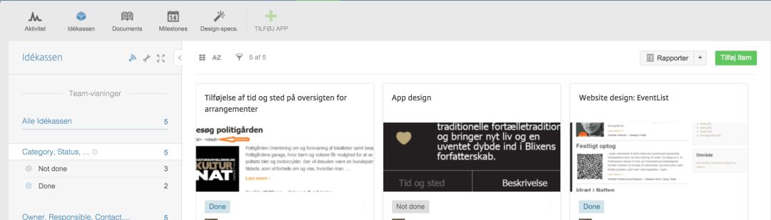 Podio er et fantastisk værktøj til projektstyring