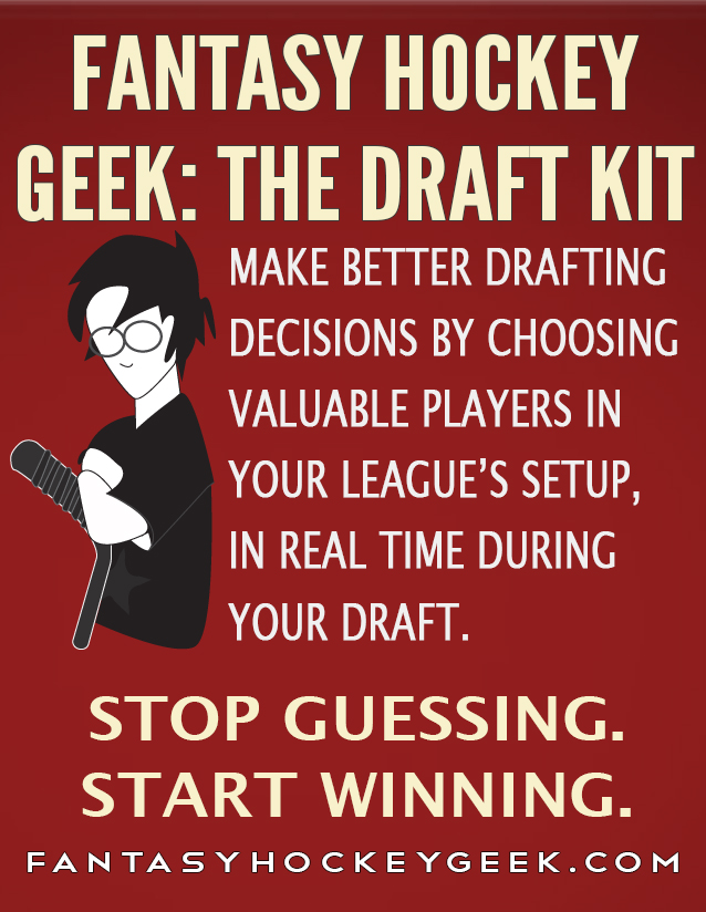 Fantasy Hockey Geek: The Draft Kit