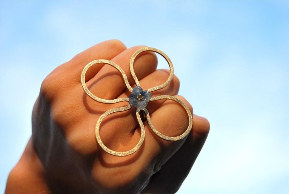 ring 'Hydranger' 1 Caroline Dobbs