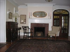 The Mead House parlor