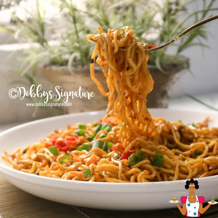 Palm Oil Noodles