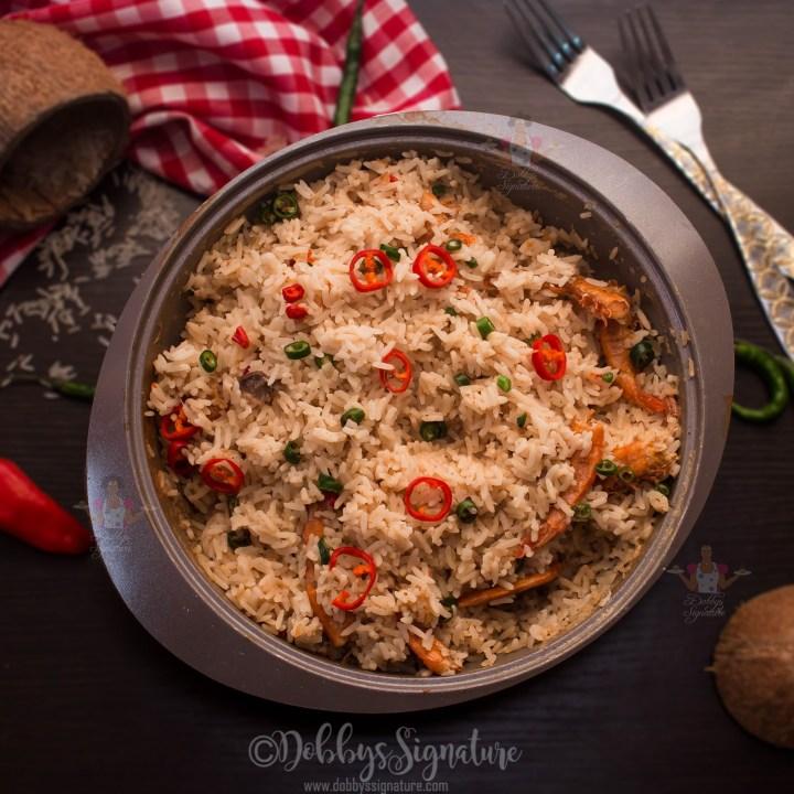 Edesi Isip - Efik/ Calabar Coconut Rice