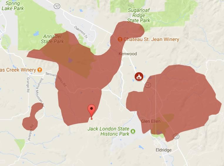 Mapa pożarów