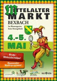 plakat mittelaltermarkt bexbach 2013 bunt