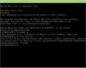Boot do Debian para ARM