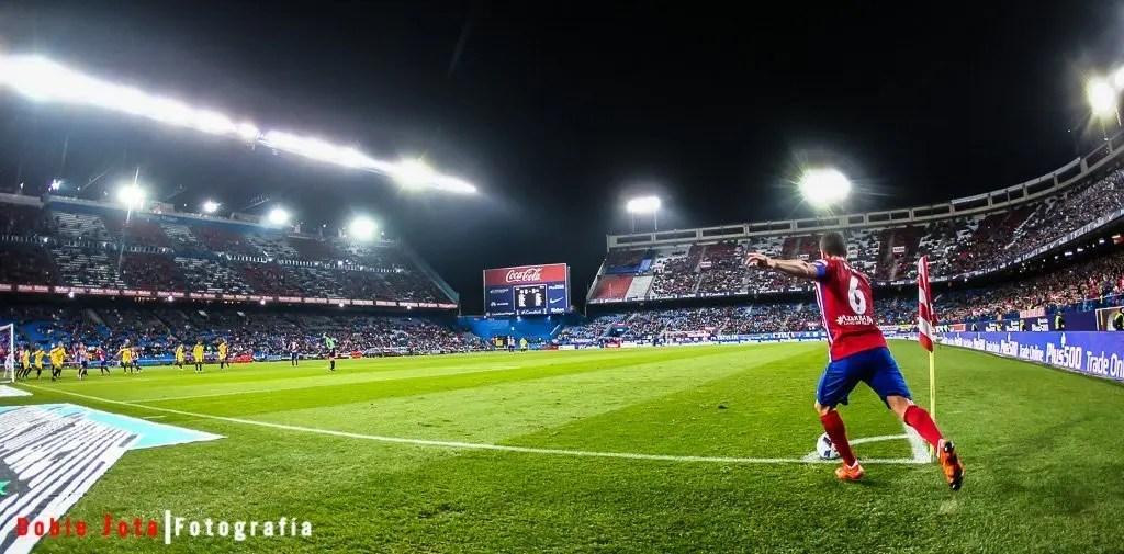 fotografía de futbol con angular