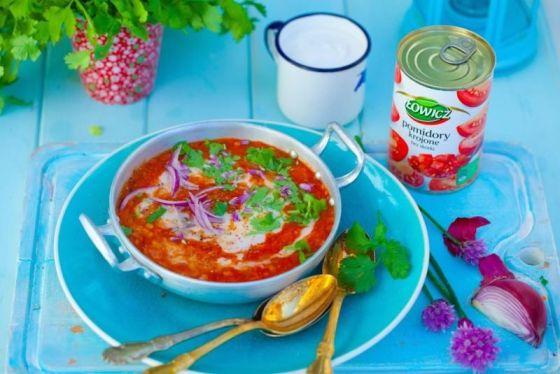 Pomidorowa z pomidorów krojonych