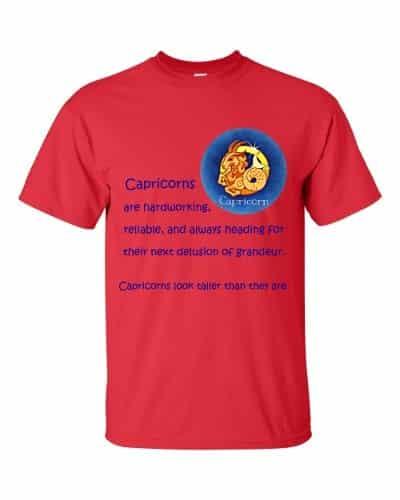 Capricorn T-Shirt (red)
