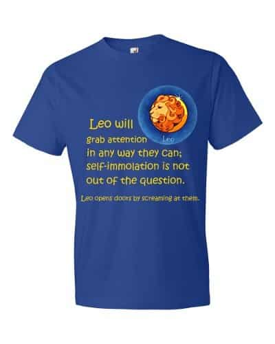 Leo T-Shirt (royal)