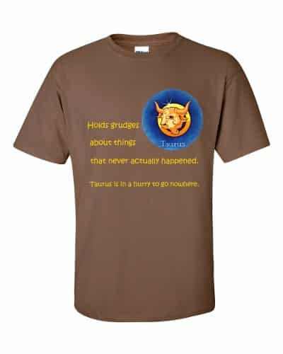 Taurus T-Shirt (chestnut)