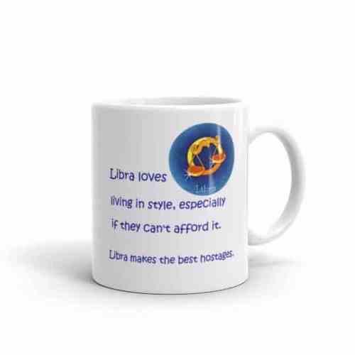 Libra Mug - 11 right