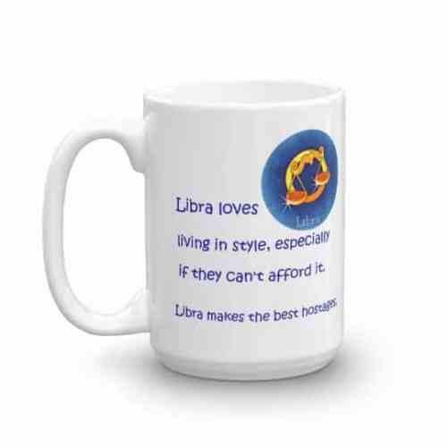 Libra Mug - 15 left