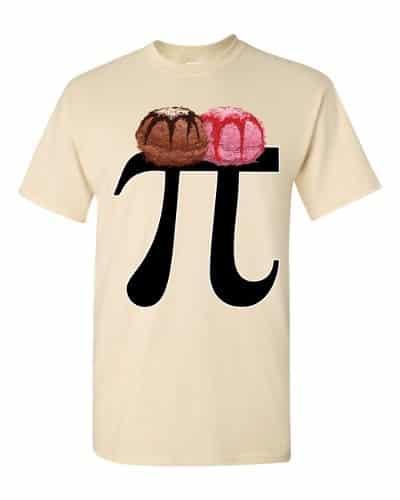 Pi a la Mode T-Shirt (natural)