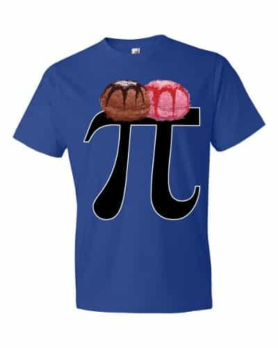 Pi a la Mode T-Shirt (royal)
