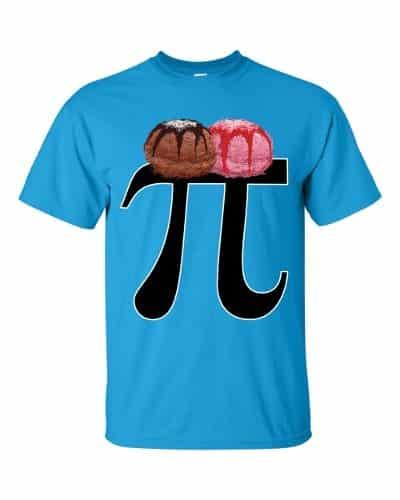 Pi a la Mode T-Shirt (sapphire)