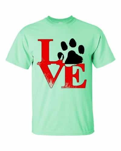 Puppy Love T-Shirt (mint)