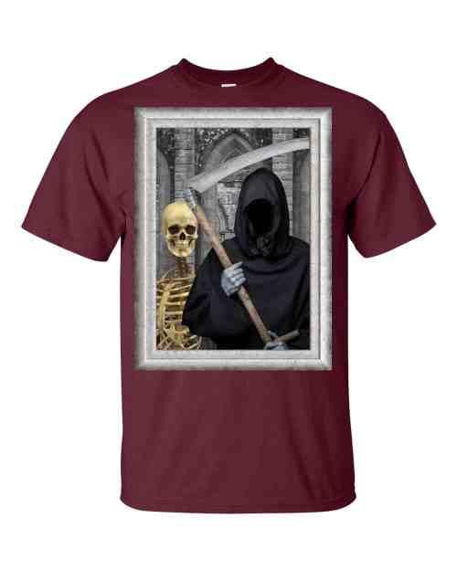 Transylvanian Gothic T-Shirt (maroon)