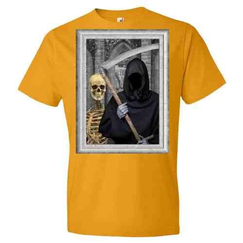 Transylvanian Gothic T-Shirt (tangerine)
