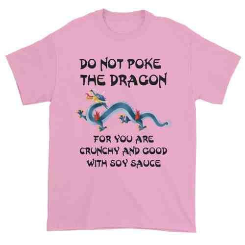 Do Not Poke the Dragon (pink)