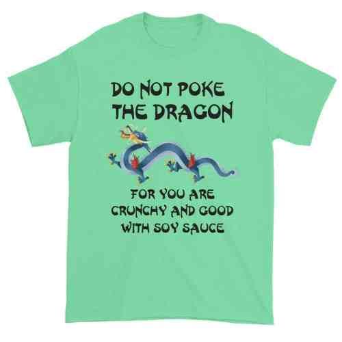 Do Not Poke the Dragon (mint)